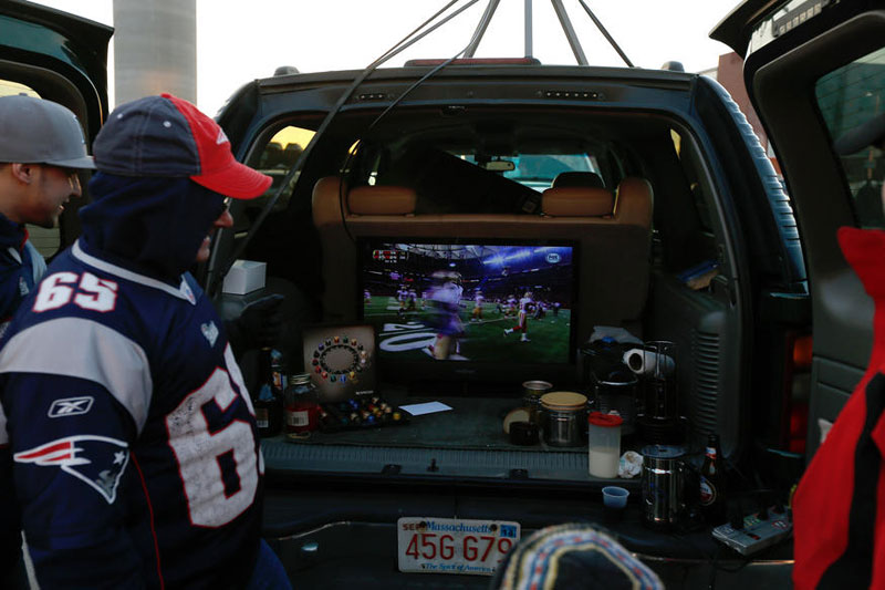 Tailgating with a Power Inverter